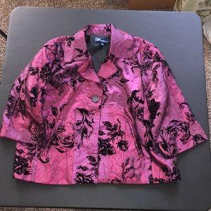 Susan Graver Purple Jacket